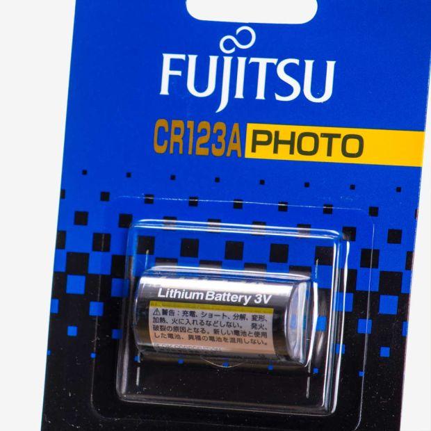 FUJITSU CR123A 3V LITHIUM PIL