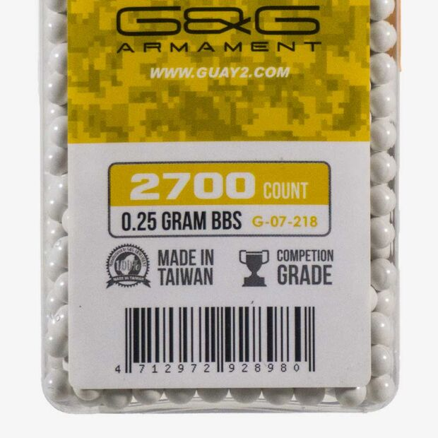 G&G PRECISION 0.25G 2700BB ŞİŞE