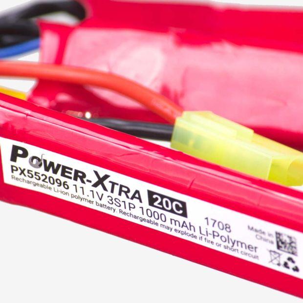 POWER XTRA 11.1V 1000MAh LIPO PİL