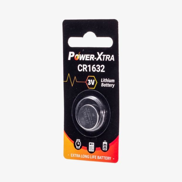 POWER XTRA CR1632 3V LITHIUM PIL
