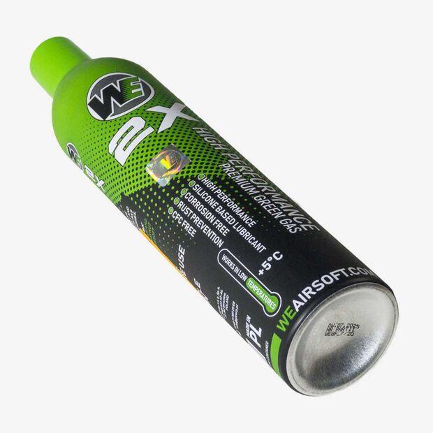 WE 2X PREMIUM 800ML GREEN GAS