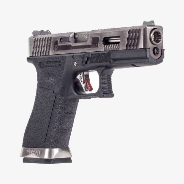 WE G17 T7 - SV SLIDE / SV BARREL / BK FRAME AIRSOFT TABANCA