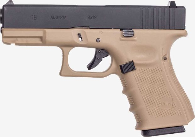 WE G19 GEN4 TAN AIRSOFT TABANCA